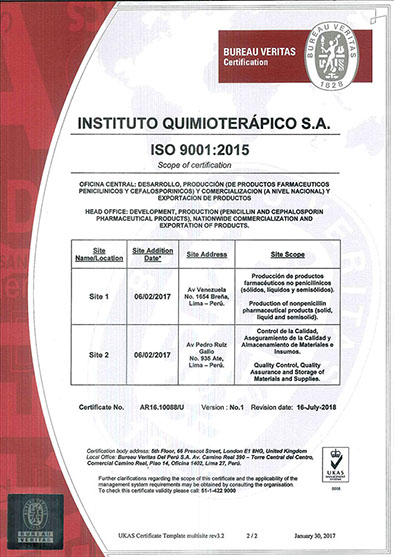 CERTIFICADO ISO 9001_2015 - INSTITUTO QUIMIOTERÁPICO S.A. (R01) chico